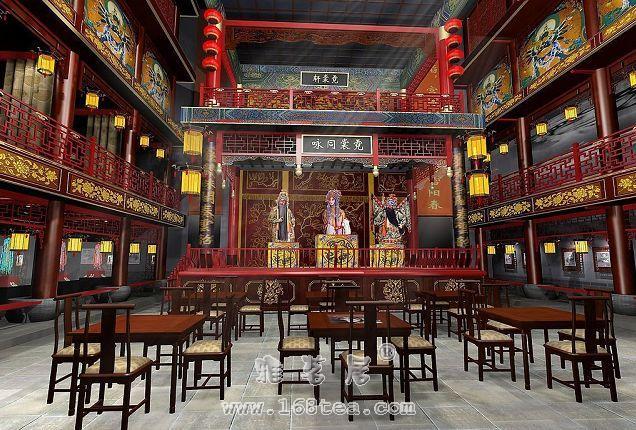 中国茶馆的四大茶门