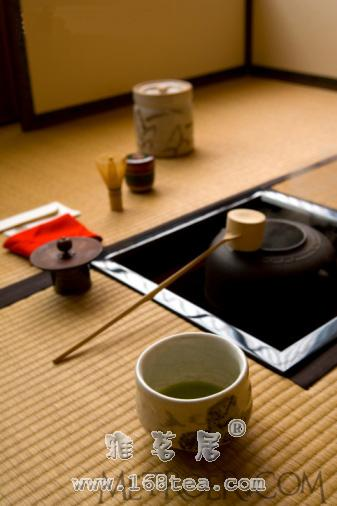 日本茶道的起源