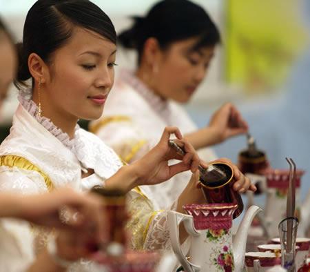 祁红工夫红茶茶艺表演步骤