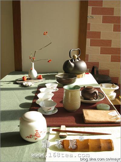 茶席风格的塑造