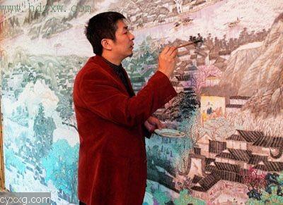访中国画茶第一人--尚明