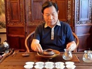 茶界名人白水清(世界茶文化交流协会副会长)