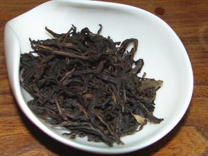 凤凰单丛茶叶图