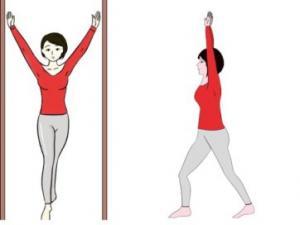 立位拉筋法及其功效|拉筋方法