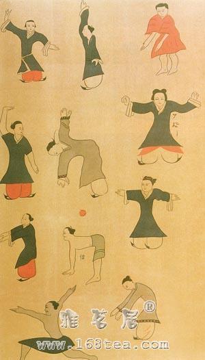 八段锦健身术|古代导引术