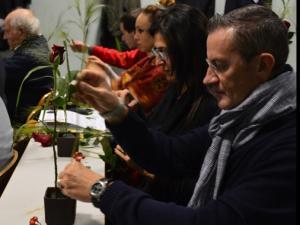 罗马大学孔院举行中国香文化及中式花道讲座