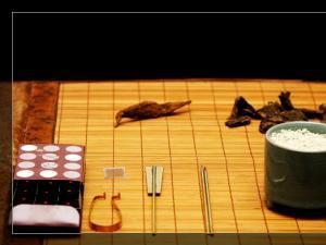 隔火熏香操作图|香道图片