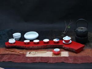 极简-茶席设计大赛作品(2012年茶席主题)