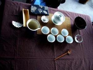 冬日暖人茶席设计