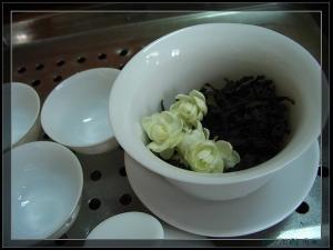 茉莉水仙茶叶图片