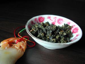 台湾乌龙茶高山茶金萱茶叶图片