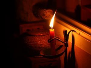 雅茗居品茶之烛光品茗图片