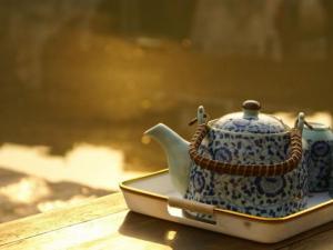 茶壶摄影图片