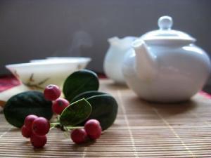 午后泡茶图片组