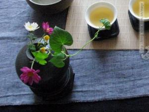 茶与花艺图片欣赏